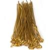 Eye Pins, 2 Inches, 20 Gauge, Gold , 100 pc. pkg