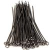 Eye Pins, 2 Inches, 20 Gauge, Gunmetal , 50 pc. pkg