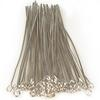 Eye Pins, 2 Inches, 20 Gauge, Silver, 100 pc. pkg