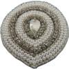 Pearl & Rhinestone Applique