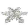 Rhinestone Snowflake Appliqué