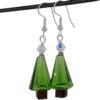 Drop Pendant Christmas Tree Earrings Kit