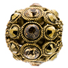 German Filigree Encrusted Bead