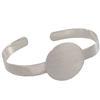 Flat Cuff Bracelet, Circle