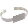 Flat Cuff Bracelet, Rectangle