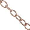 Cable Chain, 6.52 mm wide, Rose Gold Finish