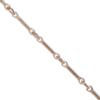 Cable Chain, 8 mm, Rose Gold Finish