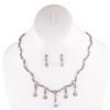 Rhinestone Necklace Crystal AB