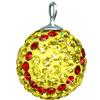 Game Time Bling 12mm Softball w/Sterling Silver Loop - Citrine/Light Siam