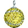 Game Time Bling 12mm Tennis Ball w/Sterling Silver Loop - Citrine/Crystal