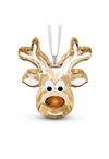 Swarovski Collections Gingerbread Reindeer Ornament