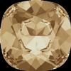 Swarovski 4470 Cushion Cut Square Fancy Stone Crystal Golden Shadow 8mm