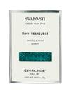 Swarovski Crystalpixie Tiny Treasures Crystal Caviar Green