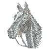 Swarovski Horse Head Transfer
