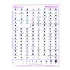 Swarovski 2078 Xirius Rhinestones HotFix Color Chart