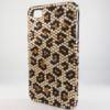 Bling iPhone Case for iPhone 4 Brown Animal Print