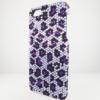 Bling iPhone Case for iPhone 5 Purple Animal Print