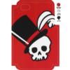 Skull Hat Template for Phone Case for iPhone 4/4S for use with Flat Backs