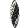 Game Time Bling Icicle Pave Bead - Jet/Black Diamond/Crystal