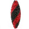 Game Time Bling Icicle Pave Bead - Light Siam/Jet
