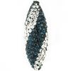 Game Time Bling Icicle Pave Bead - Montana/Crystal