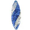 Game Time Bling Icicle Pave Bead - Sapphire/Crystal