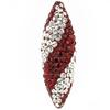 Game Time Bling Icicle Pave Bead - Siam/Crystal