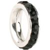 Game Time Bling Pave Ring - Jet