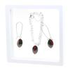 Game Time Bling Mini Football Necklace & Earring Gift Set - Jet/Light Siam