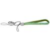 Bling Wristlet Lanyard for Cell Phone & Keys, Green