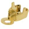Chain end for PP14 in Gold with round crimp end