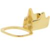 Chain end for PP18 in Gold with square crimp end