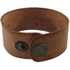 Leather Cuff, 21.5cm x 3.2cm , Distressed