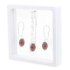 Game Time Bling Mini Football Necklace & Earring Gift Set - Light Siam/Montana