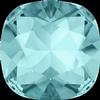 Swarovski 4470 Cushion Cut Square Fancy Stone Light Turquoise 8mm