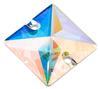 Preciosa MC Square Sew On Stone Crystal AB 16 x 16 mm