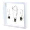 Game Time Bling Mini Football Necklace & Earring Gift Set - Montana/Light Colorado Topaz