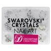 Swarovski Crystals Nail Art Show Special Kit
