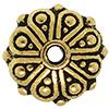 TIERRACAST® Antique Gold Oasis Rondelle Bead