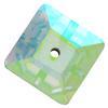 Preciosa MC Square Sew On Stone Crystal AB 10 x 10 mm