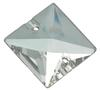 Preciosa MC Square Sew On Stone Crystal 22 x 22 mm