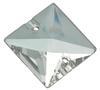 Preciosa MC Square Sew On Stone Crystal 16 x 16 mm