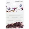 Retail Ready Package of Swarovski 2038 Hot Fix Rhinestones FlatBack 10ss Amethyst 100 pcs