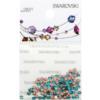 Retail Ready Package of Swarovski 2038 Hot Fix Rhinestones FlatBack 6ss Blue Zircon 115 pcs