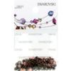 Retail Ready Package of Swarovski 2038 Hot Fix Rhinestones FlatBack 10ss Black Diamond 100 pcs