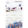Retail Ready Package of Swarovski 2038 Hot Fix Rhinestones FlatBack 6ss Capri Blue 115 pcs
