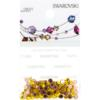 Retail Ready Package of Swarovski 2038 Hot Fix Rhinestones FlatBack 10ss Citrine 100 pcs