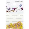 Retail Ready Package of Swarovski 2038 Hot Fix Rhinestones FlatBack 6ss Citrine 115 pcs