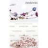 Retail Ready Package of Swarovski 2038 Hot Fix Rhinestones FlatBack 6ss Crystal 115 pcs