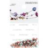 Retail Ready Package of Swarovski 2038 Hot Fix Rhinestones FlatBack 10ss Crystal AB 100 pcs
